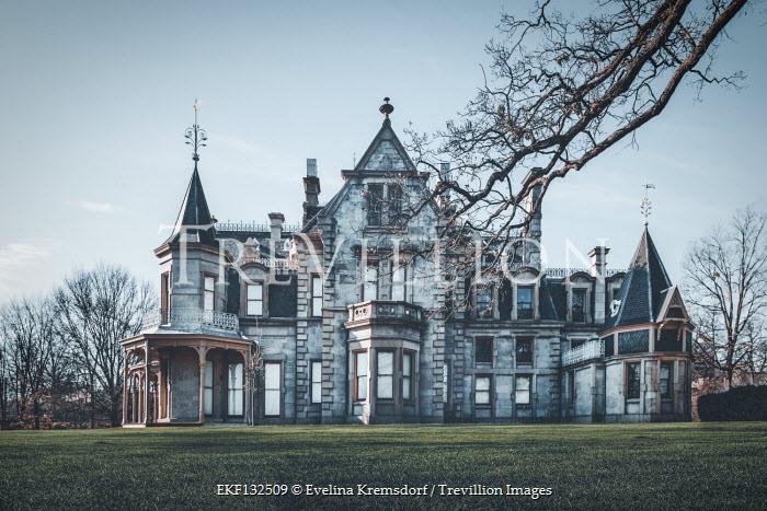Evelina Kremsdorf LARGE STONE GOTHIC HOUSE Houses
