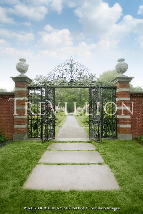 ILINA SIMEONOVA GRAND WROUGHT IRON GARDEN GATES Gates