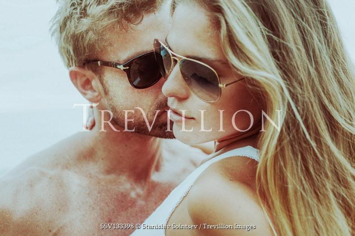 Stanislav Solntsev Intimate couple in sunglasses