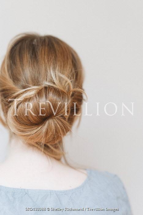 Shelley Richmond Young woman with hair bun