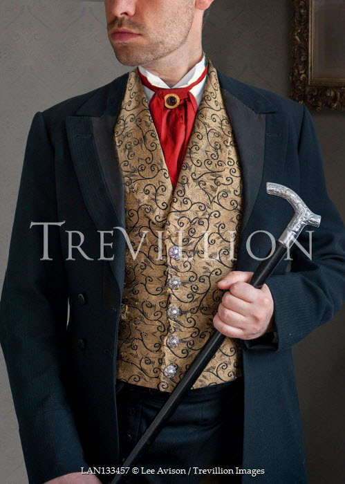 Lee Avison victorian gentleman mid section anonymous