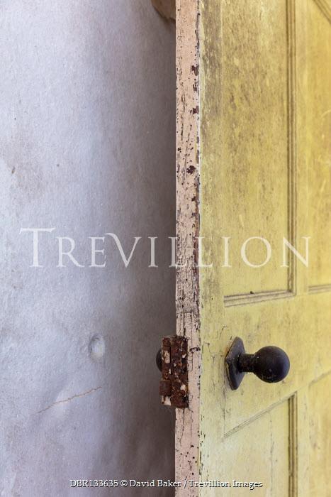 David Baker OPEN DOOR IN OLD SHABBY HOUSE