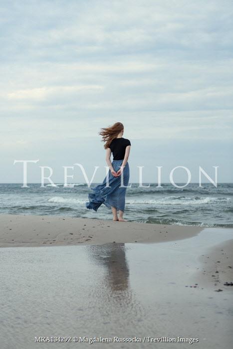 Magdalena Russocka woman standing on beach