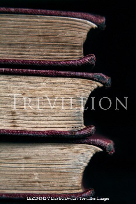 Lisa Bonowicz STACK OF THREE OLD BOOKS