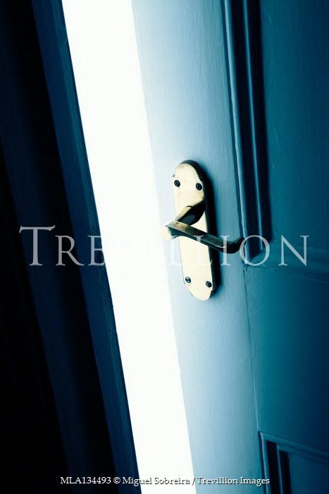 Miguel Sobreira OPEN DOOR IN HOUSE WITH SHADOW AND LIGHT