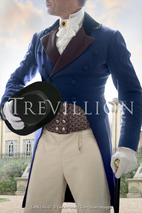 Lee Avison anonymous regency man mid section