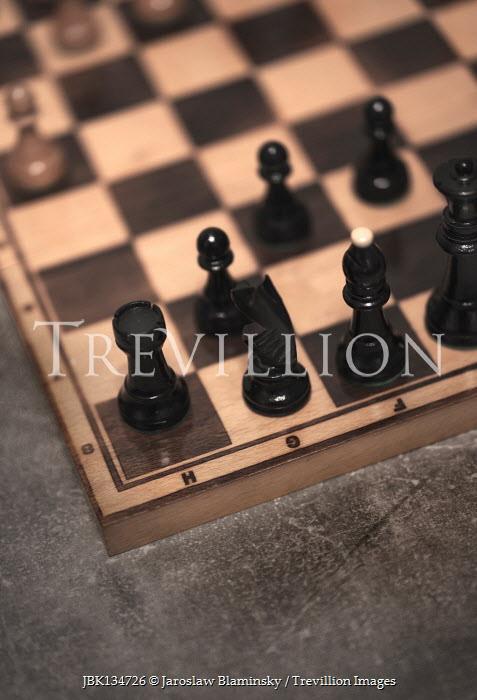Jaroslaw Blaminsky Chess board from above