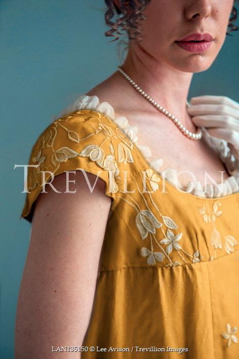 Lee Avison detail of an anonymous regency woman