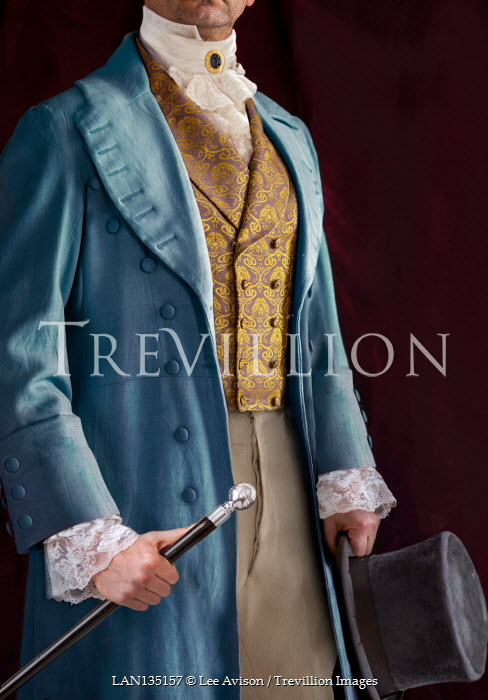 Lee Avison Regency gentleman anonymous mid section