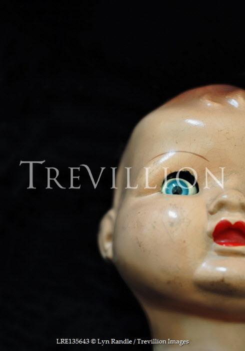 Lyn Randle HEAD OF BALD RETRO DOLL