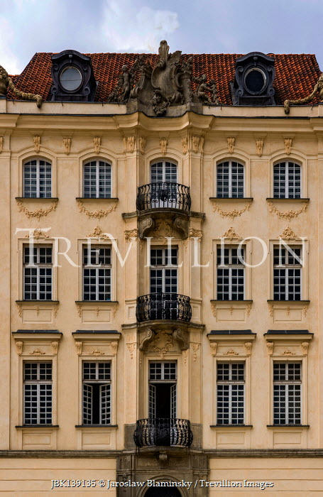 Jaroslaw Blaminsky EXTERIOR OF GRAND BUILDING WITH BALCONIES