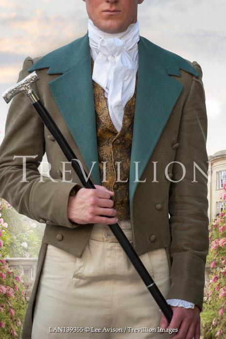 Lee Avison regency man mid section