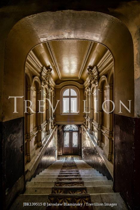 Jaroslaw Blaminsky STAIRCASE AND INTERIOR OF GRAND BUILDING