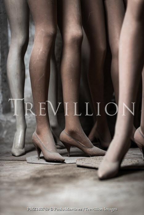 Paolo Martinez LEGS OF RETRO SHOP MANNEQUINS