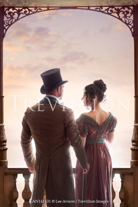 Lee Avison regency couple
