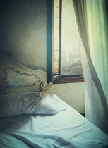 Mark Owen OPEN WINDOW OF ITALIAN BEDROOM Interiors/Rooms