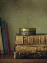 Jill Ferry BOOKS AND A TIN Miscellaneous Objects