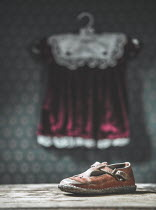 Magdalena Russocka LITTLE GIRLS VINTAGE DRESS AND SHOE Miscellaneous Objects