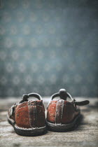 Magdalena Russocka CHILDS WORN OLD VINTAGE SHOES Miscellaneous Objects