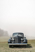 CollaborationJS 1940s cadillac automobile in countryside Cars