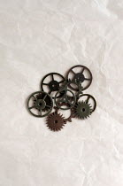 Cristina Mitchell METAL COGS AND GEARS Miscellaneous Objects