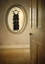 Lyn Randle REFLECTION OF NIGHTIE IN OVAL MIRROR Miscellaneous Objects