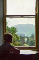 Vesna Armstrong WOMAN BY WINDOW WATCHING COUNTRYSIDE Women