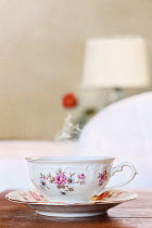Stephanie Frey Teacup on table in bedroom Miscellaneous Objects