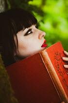 Ebru Sidar WOMAN HOLDING RED BOOK Women