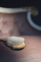 Ysbrand Cosijn RETRO GOLD HAIRBRUSH ON TABLE WITH CHAIR Miscellaneous Objects