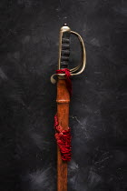AlcainoCreative SWORD IN LEATHER SHEATH Weapons