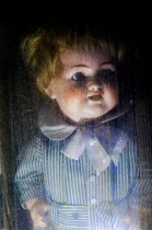 Ute Klaphake Scary doll in pinstripe suit Miscellaneous Objects