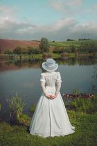 Joanna Czogala 19th century woman stood by water Women