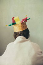 Katya Evdokimova Boy in paper crown Children