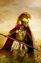Stephen Mulcahey A close-up  of a spartan warrior