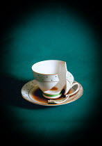 Jane Morley BROKEN CUP IN SAUCER OF TEA Miscellaneous Objects