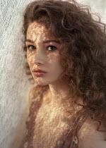 Anna Volynskaia Young woman under sheet