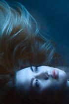 Magdalena Russocka close up of blonde woman drowning