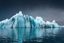Evelina Kremsdorf ICEBERG REFLECTED IN WATER Snow/ Ice