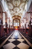 Evelina Kremsdorf Aisle of St John's Church in Edinburgh, Scotland, UK