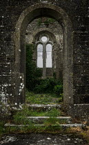 Rodney Harvey ABANDONED MEDIEVAL BUILDING WITH ARCHWAY