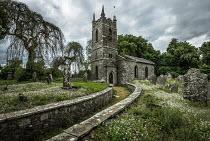 Rodney Harvey ABANDONED CHURCH WITH GRAVEYARD