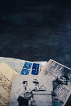 Des Panteva PILE OF OLD LETTERS AND PHOTOGRAPHS