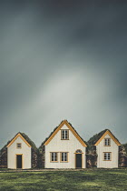 Evelina Kremsdorf SMALL HOUSES WITH GRASS ON ROOFS